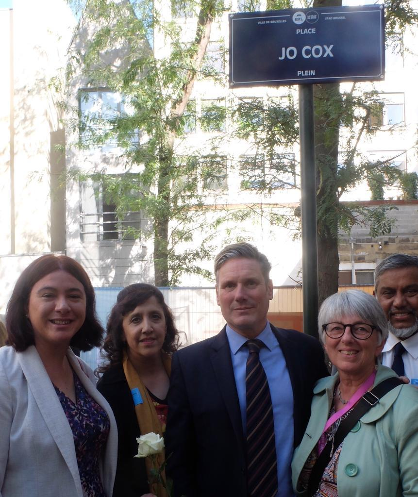 Brussels to name square after murdered MP Jo Cox